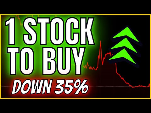 🔥📈💡 1 STOCK TO BUY [UNDERVALUED STILL] // Growth + Value Biotech Stock Down over 30%