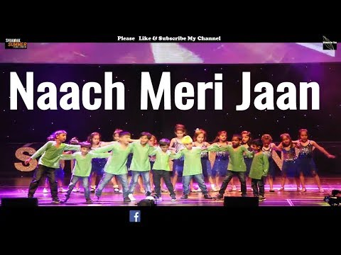 naach meri jaan song| tubelight| dance|  Salman Khan Shiamak London |lyrics 2017