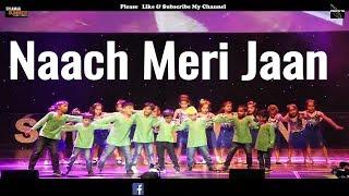 naach meri jaan song| tubelight| dance|  Salman Khan Shiamak London |lyrics 2017