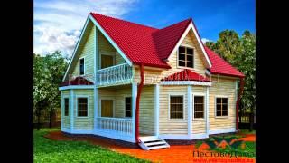 видео проекты красивых деревянных домов