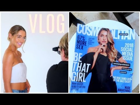 VLOG | I am on the Cover of a Magazine?! Runway shows, Photoshoots & More