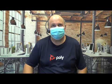 Headset Voice Quality with Mask  Poly EncorePro 700 Series