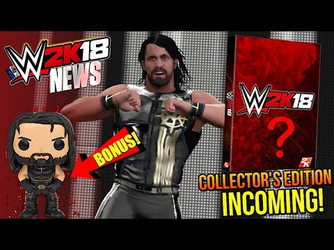 WWE 2K18 News: COLLECTOR'S EDITION REVEAL INCOMING, EXTRA Pre-Order BONUS, NEW Scans [#WWE2K18 News]