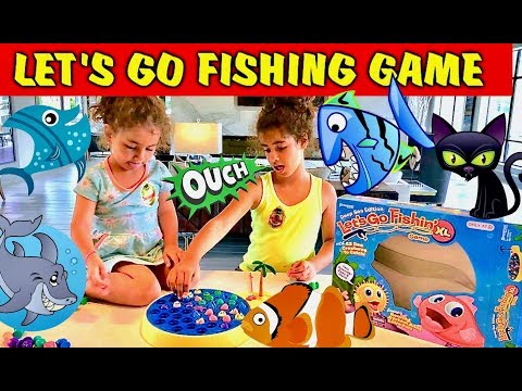 LET'S GO FISHING GAME XL, Opening and Learn Colors