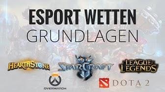 eSport Wetten Grundlagen // Welche Games & Wettanbieter?