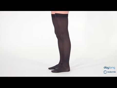 Activa Class 1 Thigh Support Stockings Black Women