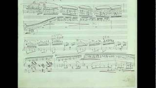 Franz Liszt Sonata  Tanski Music Autograph Facsimile b minor h moll si mineur
