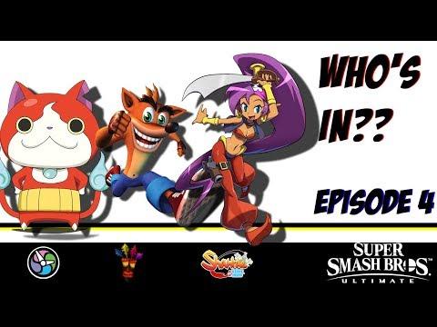 Who's In? Super Smash Bros Ultimate Roster Chances (Jibanyan, Crash Bandicoot, Shantae)
