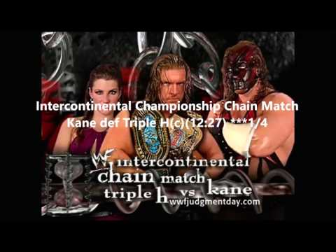 WWF Judgment Day 2001 Review