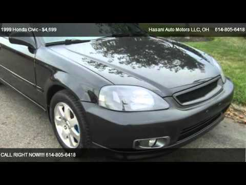 1999 honda civic si for sale in columbus oh 43202 youtube. Black Bedroom Furniture Sets. Home Design Ideas