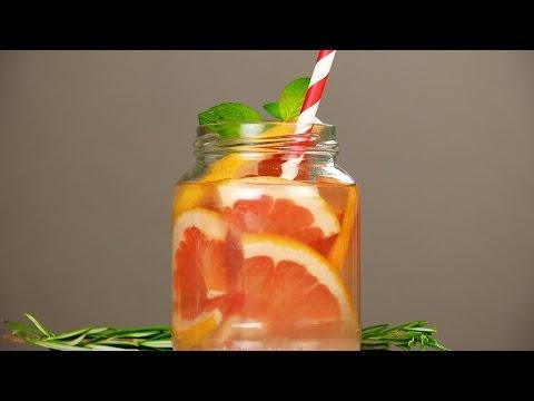 Gurken-Zitronen-Infusion zur Gewichtsreduktion