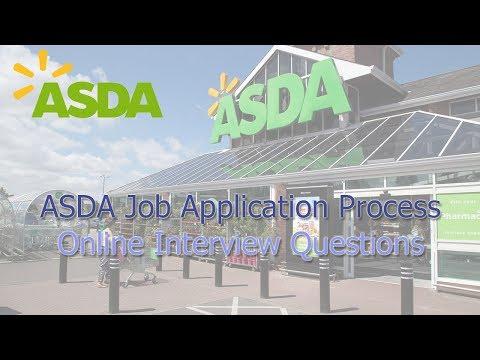 ASDA Job Application Process - Interview Questions 2019