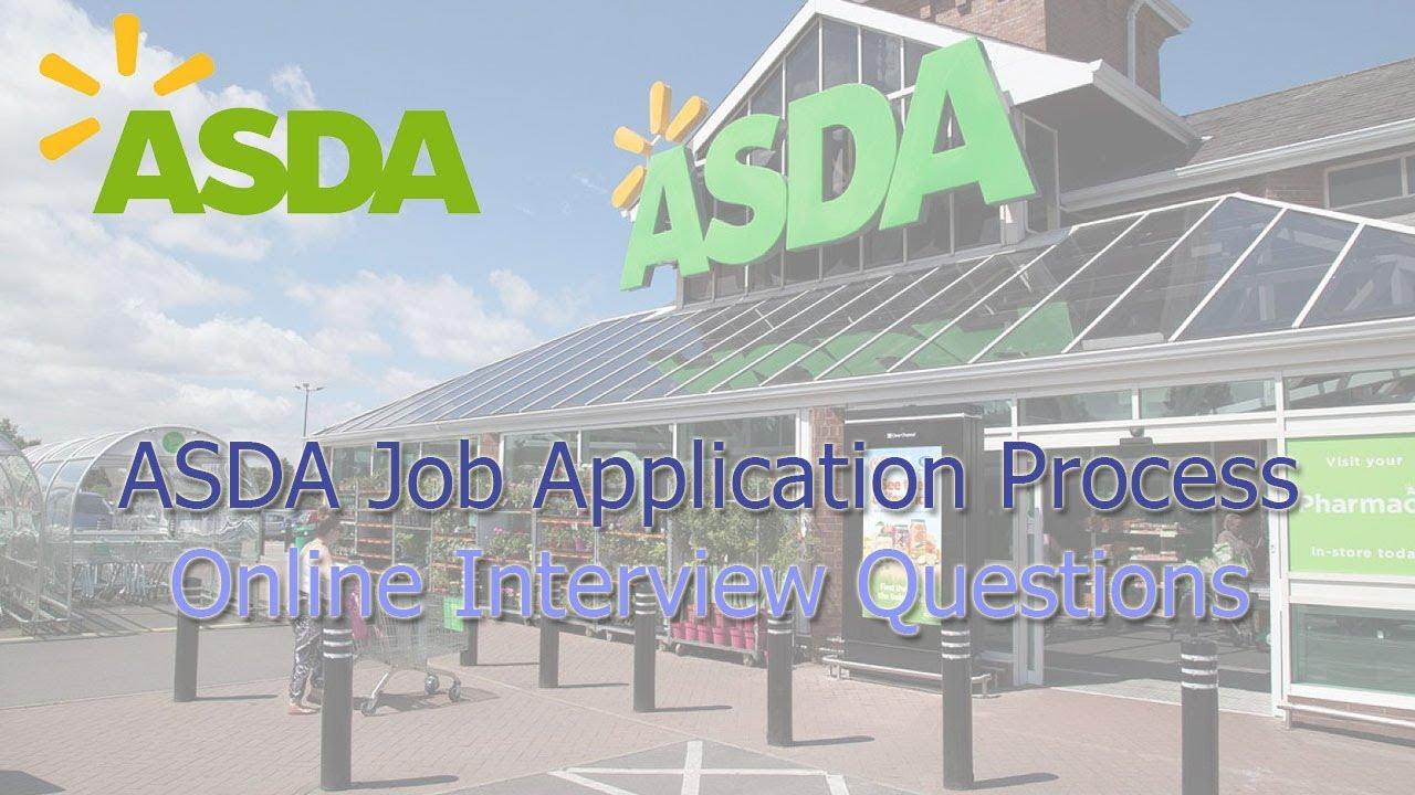 Asda Job Application Process Online Interview Questions 2018 Youtube