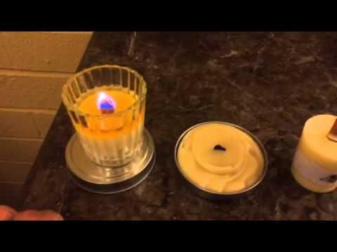 Tips for burning votive candles