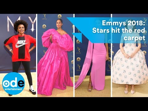 Tify Haddish, Scarlett Johansson, Emilia Clarke and more hit Emmys red carpet