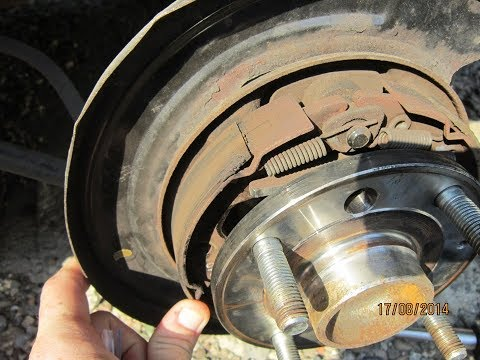 Ремонт задних супортов, замена колодок ручника. Chevrolet Lacetti