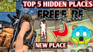 FREE FIRE : New hidden places in purgatory map || Top 5 hidden places in free fire purgatory