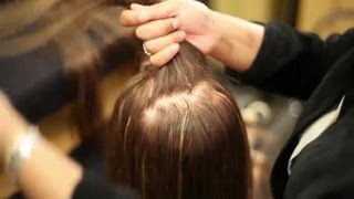 How to Put in a Hair Extension Clip : Hair Extensions & Hair Loss