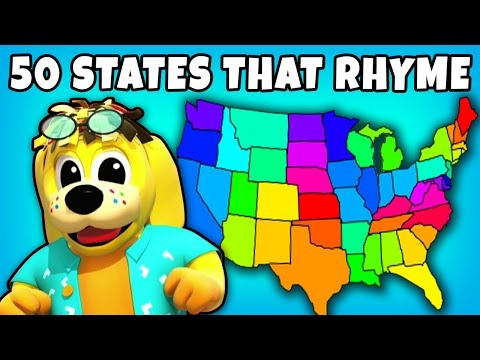 50 States That Rhyme  Kids Songs  Plus Lots More Fun Nursery Rhymes Collection for Kids  RaggsTV