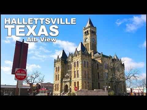 Hallettsville TEXAS Driving Tour - Alt. View