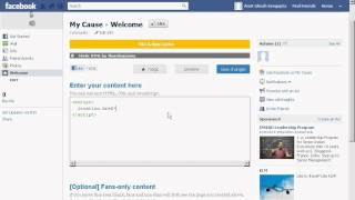 How to embed an external website into your Facebook Page