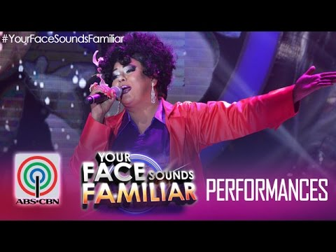 """Your Face Sounds Familiar: Karla Estrada as Angela  Bofill - """"This Time I'll Be  Sweeter"""""""