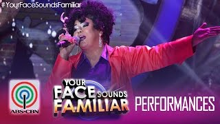 "Your Face Sounds Familiar: Karla Estrada as Angela  Bofill - ""This Time I"