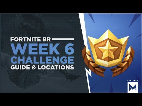 Fortnite Battle Royale: Season 4 Week 6 Challenges, Guide And Locations