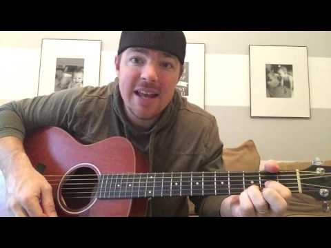Every Light In The House Is On   Trace Adkins   Beginner Guitar Lesson
