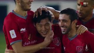 الأهداف | الدحيل 6 - 1 الغرافة | نصف كأس قطر 2018