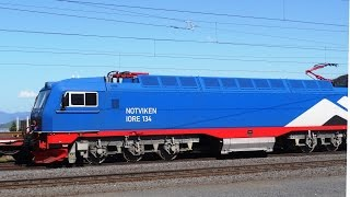 Repeat youtube video LKAB IORE trains Narvik Norway 2014