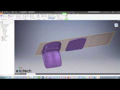 Autodesk Inventor 2017 - Freeform Modelling - Quick Tips