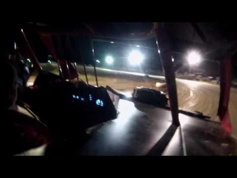 Jim Cihy in car camera Dallas County Speedway 2016