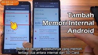 cara rubah tampilan menu hp advan s4T jadi mirip iphone.