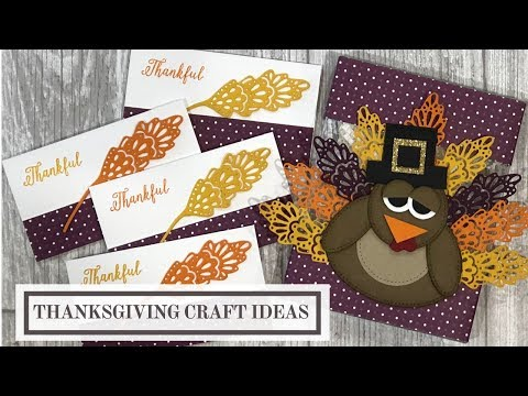 Thanksgiving Craft Ideas (Gift Box and Note Cards)
