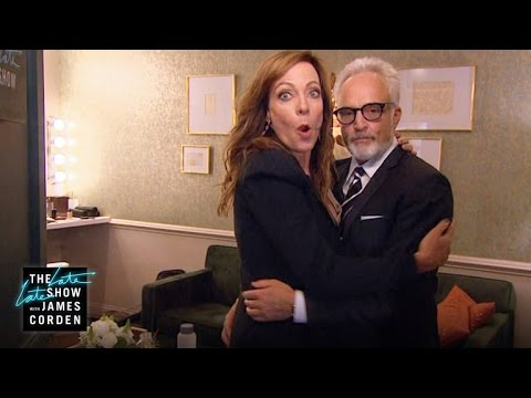 Bradley Whitford & Allison Janney Are All Over Each Other