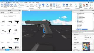 [ROBLOX STUDIO]--How to make a gun with TurboFusionKit--[ENGLISH TUTORIAL]--READ DESCRIPTION
