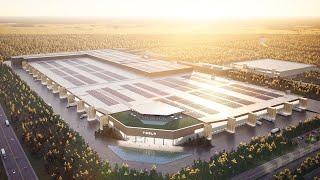Как компании Tesla удаётся так быстро строить свои заводы
