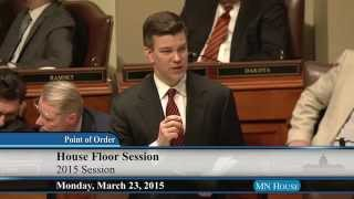 House floor session - part 1  3/23/15