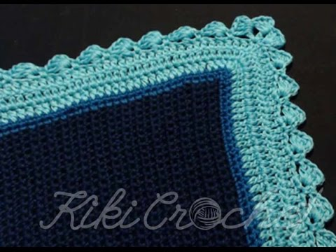 Πλεκτη Καλοκαιρινη Κουβερτα με Βελονακι/ Crochet Blanket