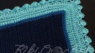 Πλεκτη Κουβερτα με Βελονακι/ Crochet Blanket