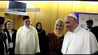 "The best teacher in the world is a Muslim: ""I learned a lesson from Pope Francis"""