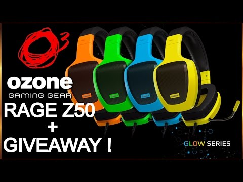 Ozone Gaming RAGE Z50 - Best Budget Headset + GIVEAWAY