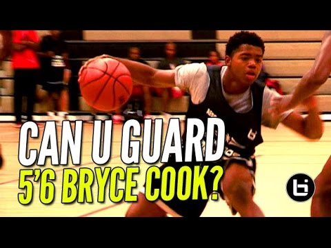 5'6 Bryce Cook Has NASTY Handles & Exciting Game! Can YOU Guard Him?