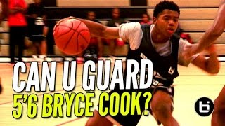 Repeat youtube video 5'6 Bryce Cook Is The NEW Most Exciting Player In High School! Can YOU Guard Him?