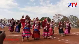 Lambadi Girls Super Dance on Folk DJ song   3TV BANJARA