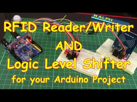 #34 RFID Reader/Writer (Mifare MFRC522) With A Logic Level Shifter