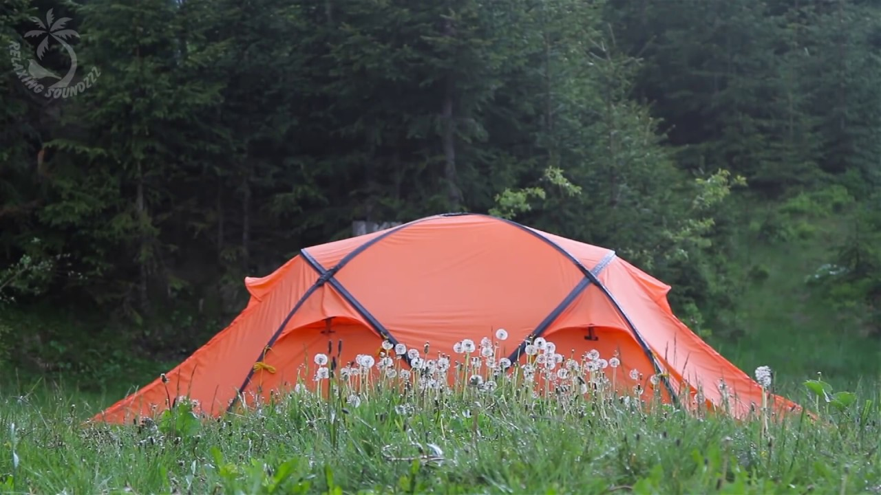 Rain On A Tent Sound / Raining Sounds To Cancel Back ...