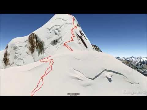 ASCENSION AL MONTBLANC 3D  -virtual track -
