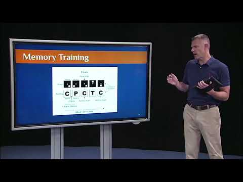 Lecture 1 - Experimental Research (2/3): Example 2 - Memory training